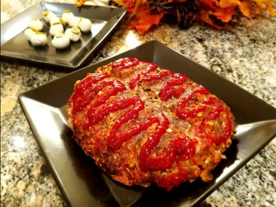 ???? Halloween Recipes | Zombie Brain Meatloaf Homemade Recipe | Party ideas for Halloween  ????