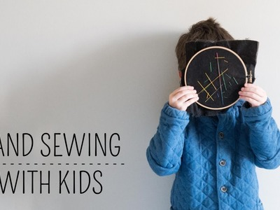 Hand Sewing Project for Kids