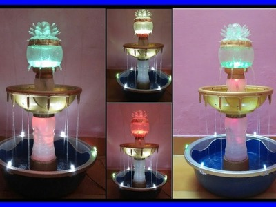 Home made water fountain (creative)⛲