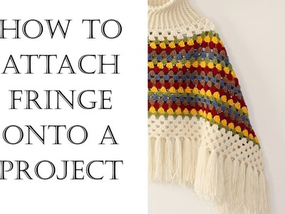 How To Attach Fringe | Easy Tutorial
