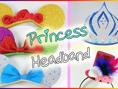 How To Make A Princess Headband | Sparkly Headband | Foam Sheets