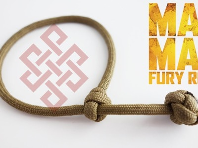 How to Make a Single Strand Mad Max Paracord Bracelet Tutorial