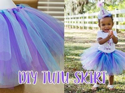How to Make a Tutu Skirt | Simply Dovie