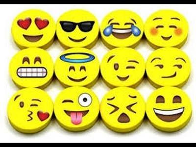 How To Make An Emoji Eraser At HOME!!!