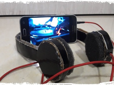 How to make Headphones from Cardboard