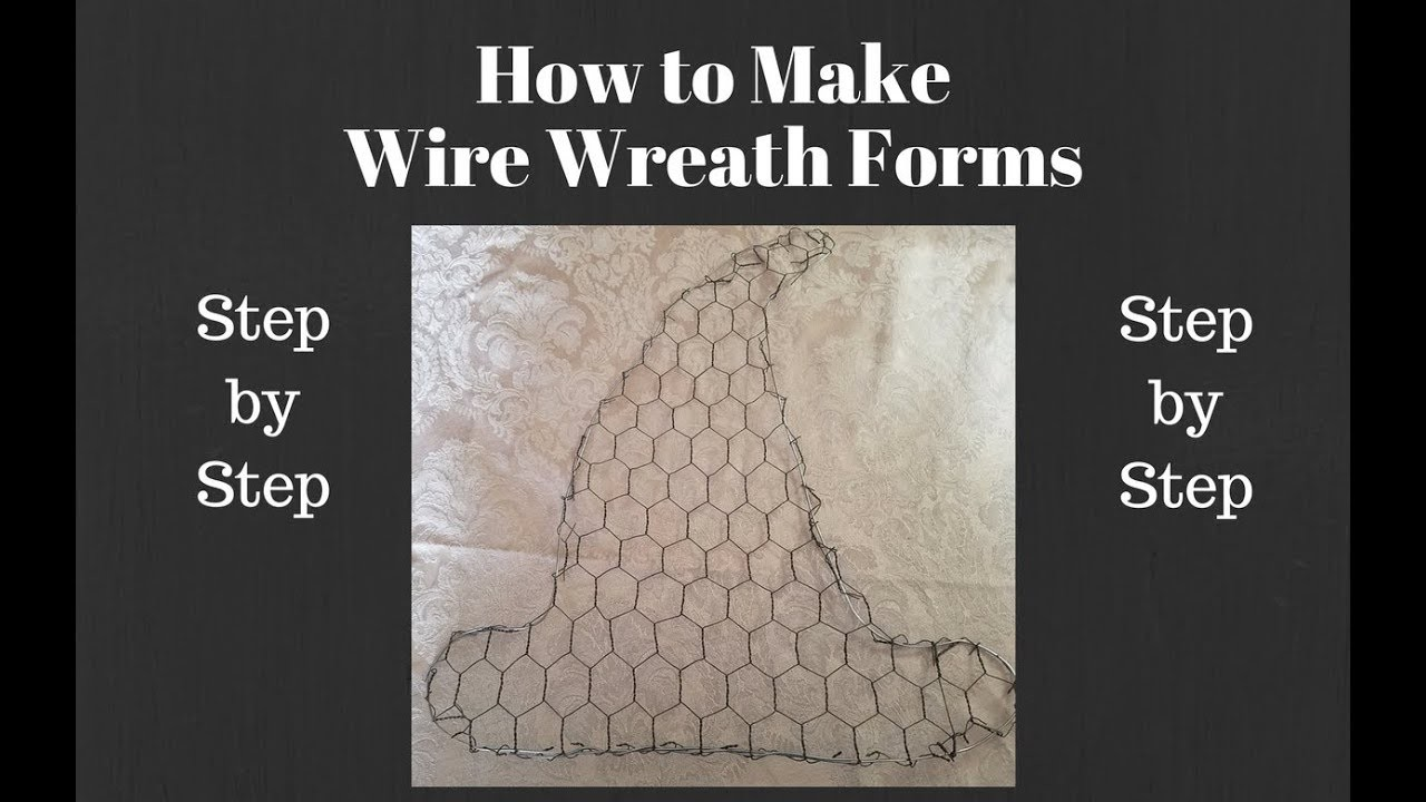 Wire How To Make Wire Wreath Forms Wire Wreath Forms For