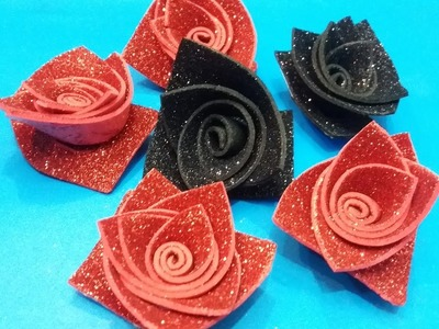 How you can  make different type of roses in one style part 1
