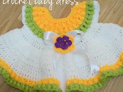 Learn how to make a Crochet baby dress ???? - B