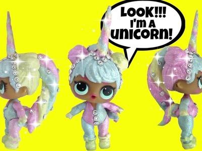 LOL Bon Bon UNICORN CUSTOM ???? L.O.L. Surprise Series 2 ~Doll Story Video by Girly Girlz