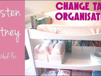 ORGANISE WITH ME | Change Table Organisation