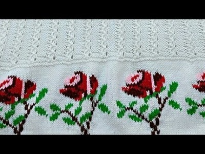 #PART-2 Beautiful Floral Sweater for Girls-Design:29