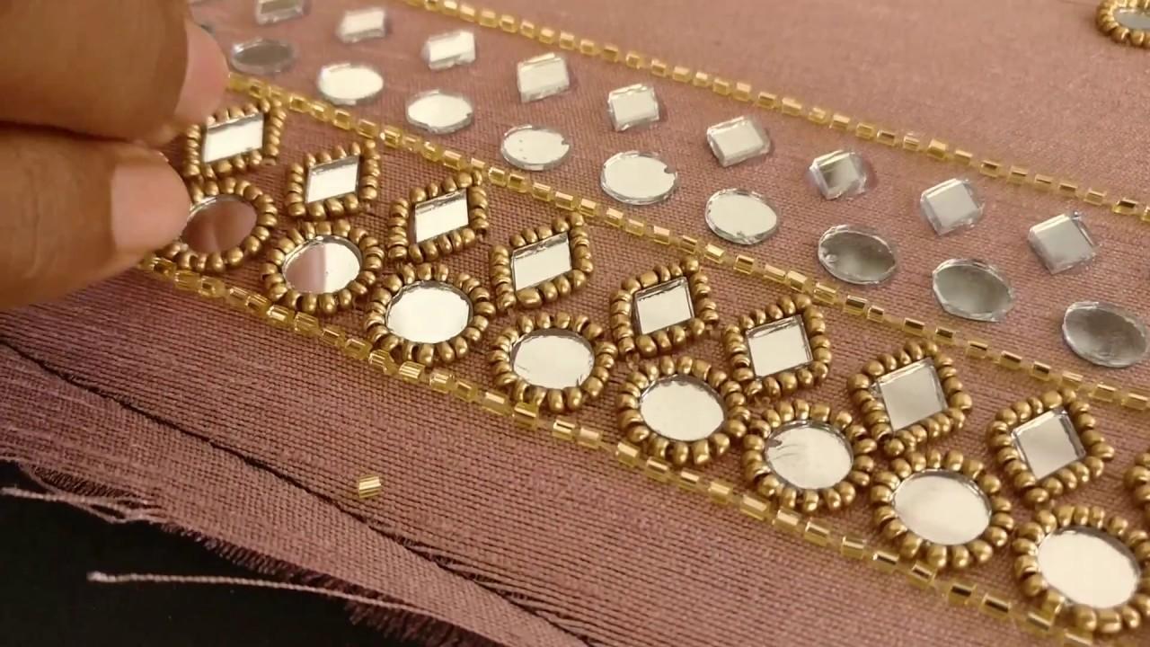 Patiyala Bridal suit with Mirror work