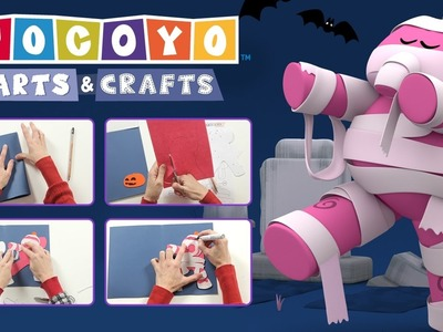 Pocoyo Arts & Crafts:  Cartão da Elly  | HALLOWEEN