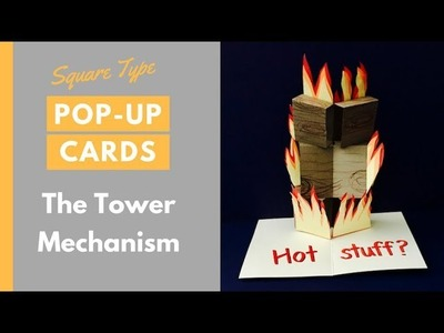 Pop-up Cards Tutorial - The Tower