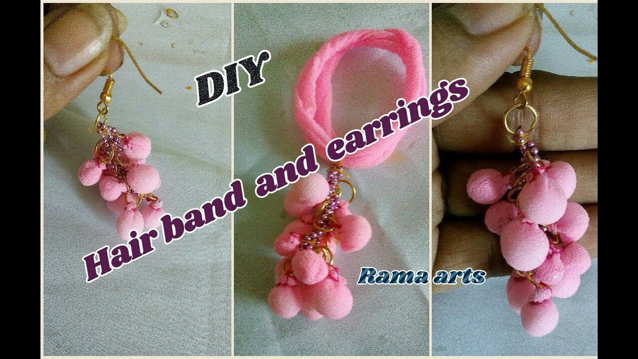 Socks cloth fancy jewellery - How to make this jewellery | jewellery tutorials