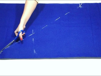 2 Meter Salwar cutting simple and easy method - The Basic