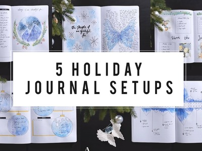 5 Special Bullet Journal Setup | Holiday Ideas | ANN LE
