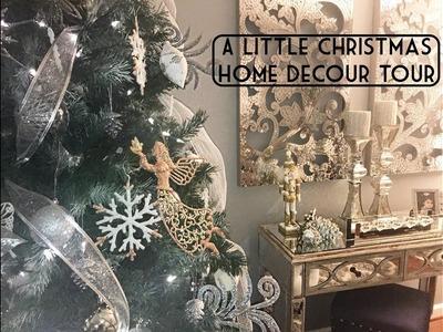 A LITTLE CHRISTMAS HOME DECOR TOUR (Un-Finished)