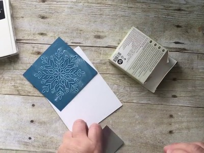 Acetate boxes, embossing folder and stamps!  Oh my!