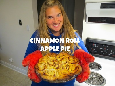 APPLE PIE RECIPE WITH CINNAMON ROLLS | Quick and Easy
