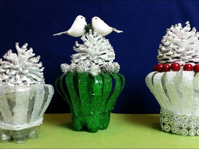Beautiful Pine cone Christmas Decorations