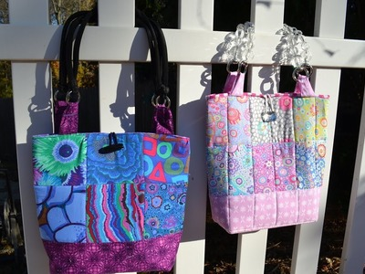 COMING SOON!  Sneak Preview of my Quilted Fully Lined Tote Bag - Tutorial to Follow