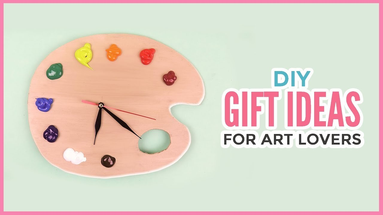 Creative DIY Gift Ideas For Art Lovers