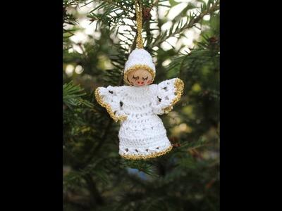 Crochet a Little Angel - Christmas Tree Ornament - Part 2 of 2