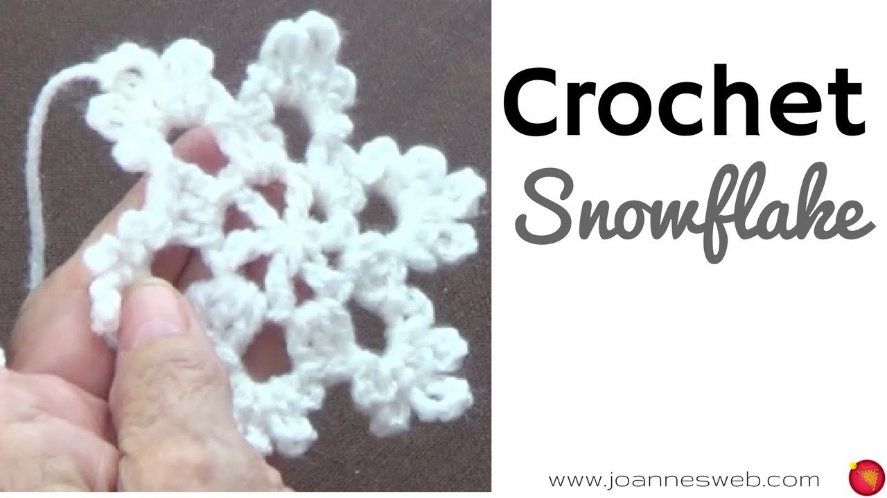 Crochet Snowflake -Ornaments - Holiday DIY - Home Decor