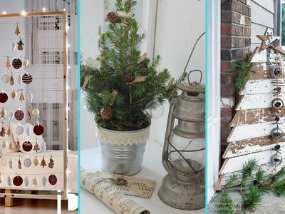 ❤DIY chic style Small space Christmas Tree decor Ideas❤   Christmas Home decor   Flamingo Mango 