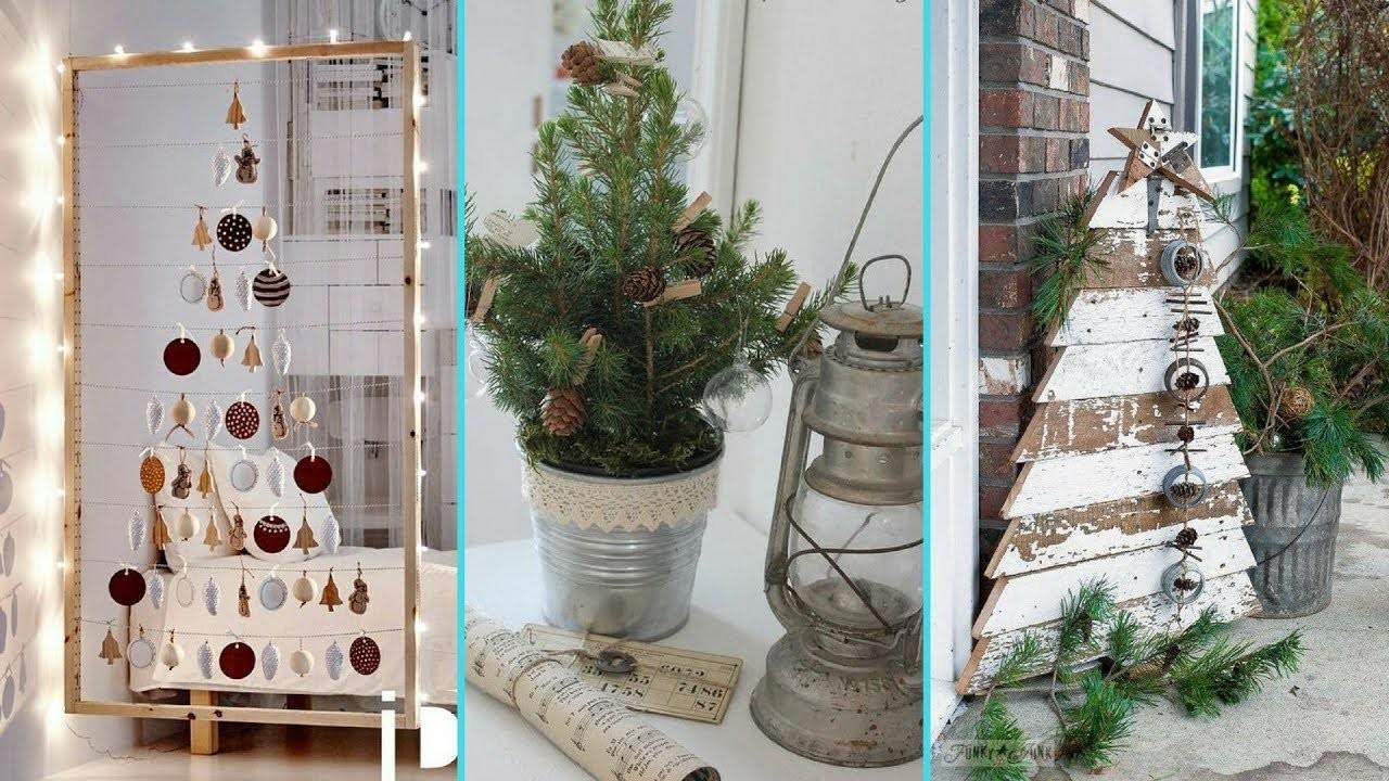 ❤DIY chic style Small space Christmas Tree decor Ideas❤ | Christmas Home decor | Flamingo Mango|