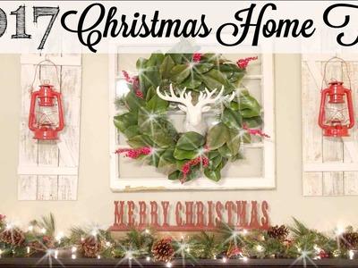 DIY Christmas Home Tour 2017