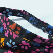 Dog Bandana Paw Print Hook and Loop