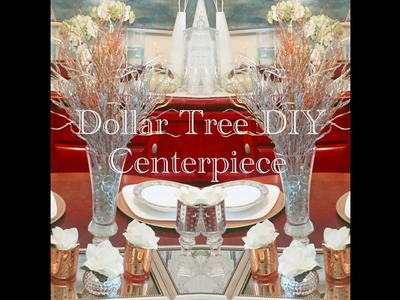 Dollar Tree DIY Budget Friendly Holiday Tablescape - Less than $22