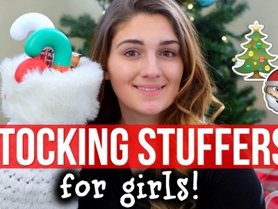 Easy & CHEAP Stocking Stuffers For GIRLS! | Amber Greaves