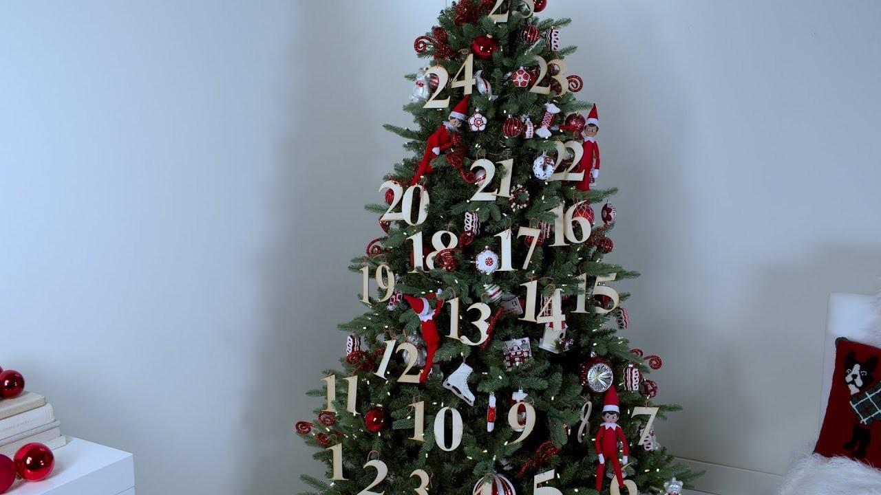 Elf on the Shelf Christmas Tree Theme- Martha Stewart