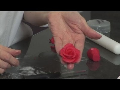 How To Create A Marzipan Rose