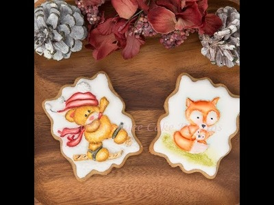 How to Decorate and Make Festive Animal Cookies ????????????
