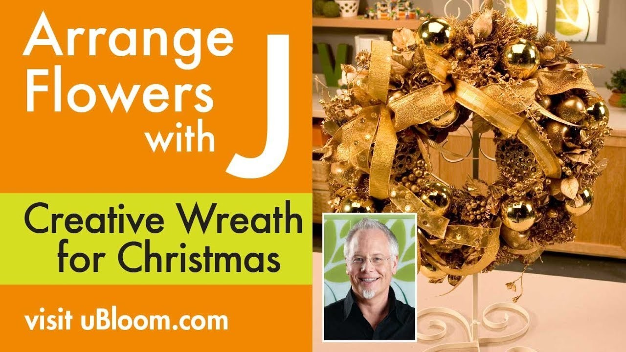 How to make a Christmas Wreath out of Recycled Junk!