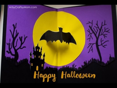 How to make a Halloween Pop Up Card