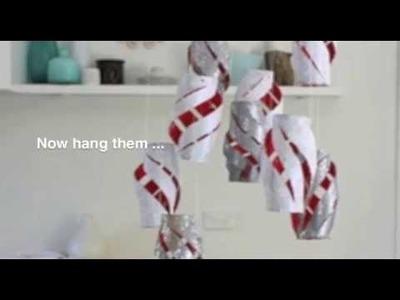 How to make Christmas lanterns