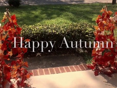 How to make Ombré Autumn Trees Two kinds for Fall