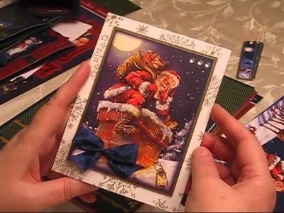Hunkydory Night Before Christmas Luxury Card Kit
