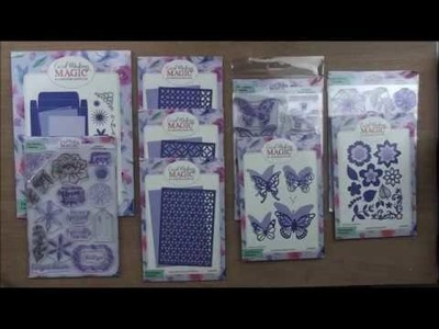 """Introducing the """"Christina Collection"""" from Card Making Magic"""