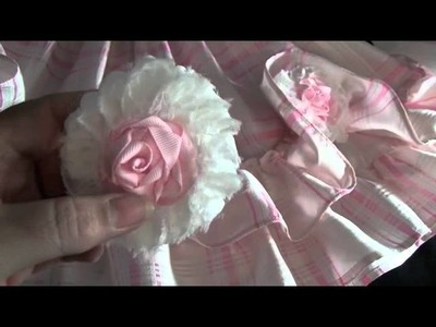 Little Baby dress with roses!!