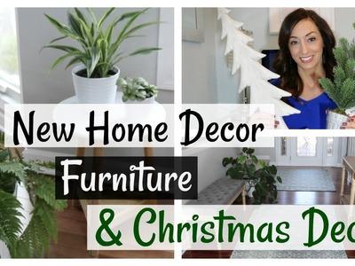 New Home Decor Haul + Entryway Furniture + Christmas Decor
