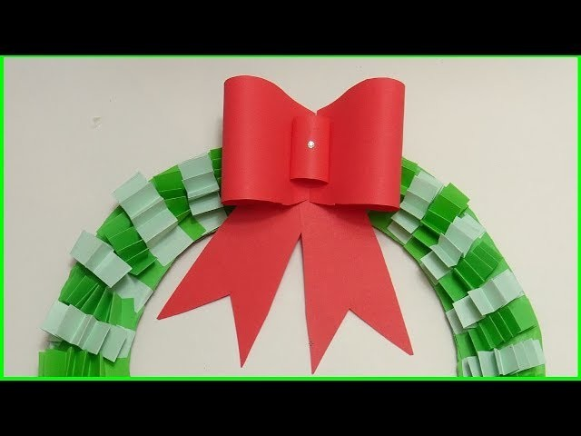 Origami - How to - fold a paper Bow.Ribbon   How To Make A Simple Easy Paper Bow 2018