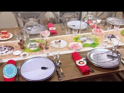 Personalizing the Holiday Dinner Table - Martha Stewart