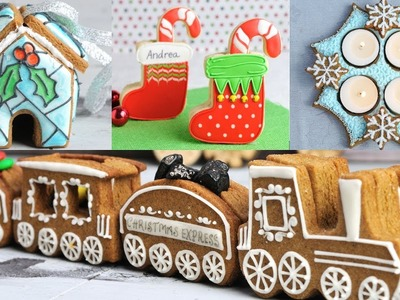 TOP 10 CHRISTMAS  COOKIE DECORATIONS by HANIELA'S