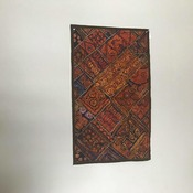 Vintage Pakistani Sindhi Beautiful Hand Embroider Glass Work Wall Hanging